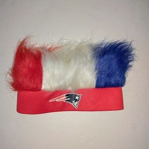 Patriots NFL hair flair hat